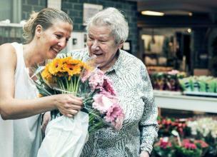 bloemen verkoop op dinsdag